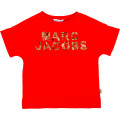 Sweat manches courtes à perles LITTLE MARC JACOBS pour FILLE