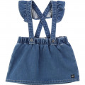 Jupe en denim stretch CARREMENT BEAU pour FILLE