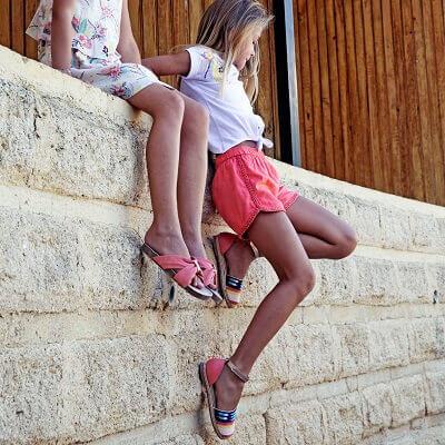 Sélection chaussures enfant printemps / été 2020